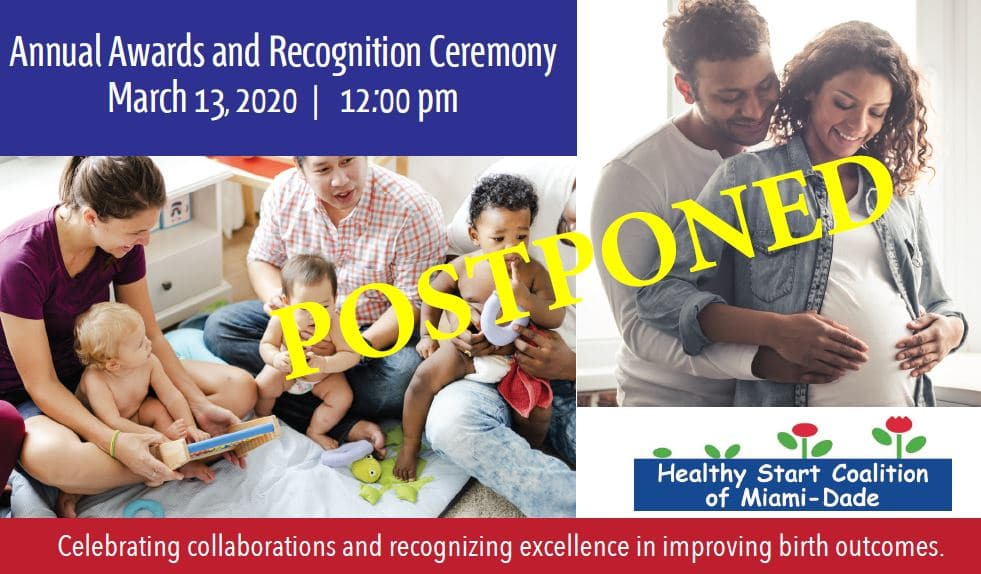 POSTPONED: HSCMD Annual Awards & Recognition Ceremony 2020